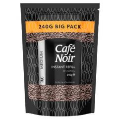 Kaffe Cafe Noir Frysetørret Instant Medium 240 gr, 9 ps x 240 gr/krt