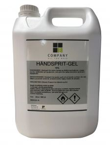 Hånddesinfektion Gel 70% 5L