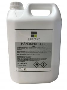 Hånddesinfektion Gel 85% 5L