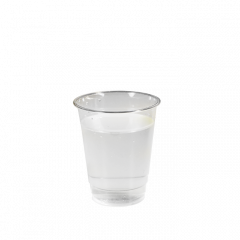Bioplastglas 250 ml (8 oz), 50 Stk/pk