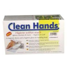 Clean Hands basismodel 1 holder 1 bøjle 1 handske