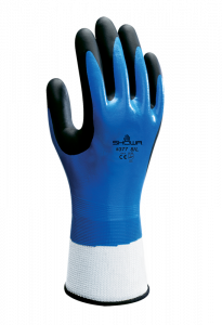 Showa 377 Nitrile Foam Grip Handske Str. 9, 1 Par